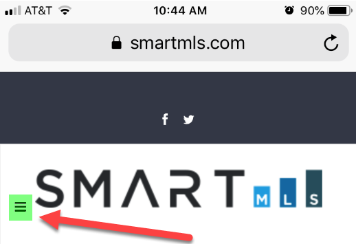 Log into SmartMLS on mobile device – The Smart Desk